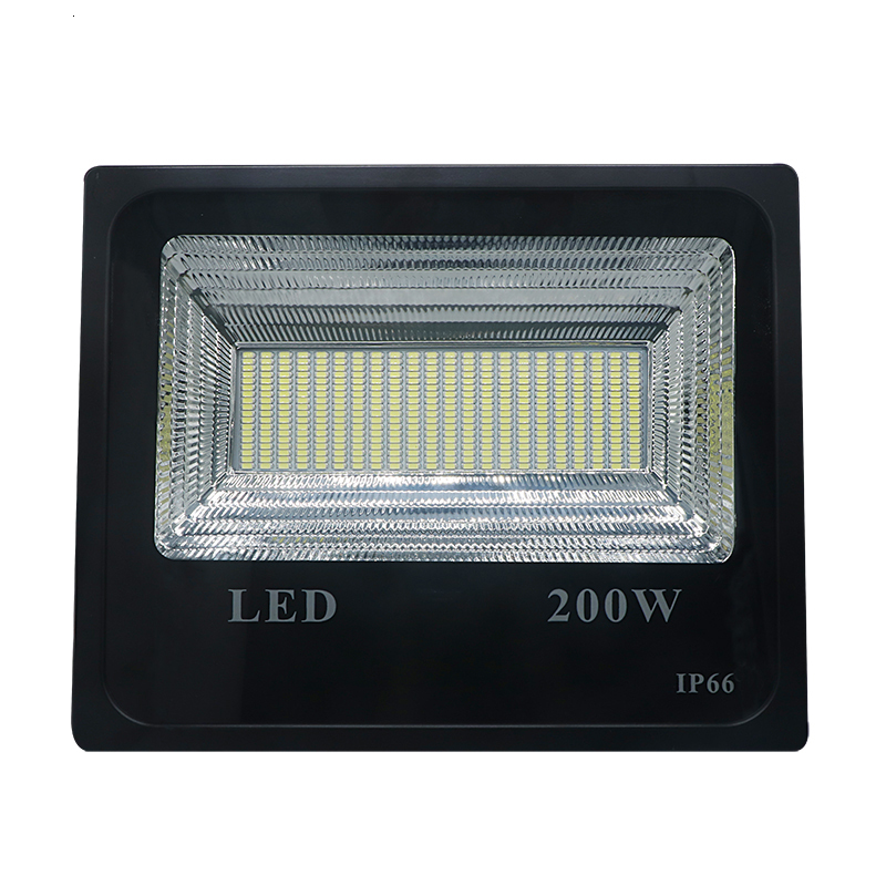 200W Solar Flood Light Double Color Solar Power LED Flood Light Garden Path Street Spotlight IP66 Waterproof Lamp Remote Control