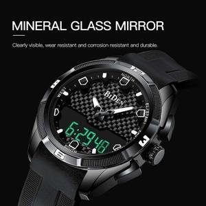 Image 3 - Relogio Masculino męskie sportowe zegarki kwarcowe cyfrowy zegarek led w stylu wojskowym mężczyźni Casual elektronika zegarki na rękę Relojes