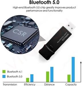 Image 2 - Bluetooth 5.0 + USB Máy Phát Âm Thanh Có Mic Aptx LL Độ Trễ Thấp Bass Sâu Tai Nghe Không Dây Tai Nghe Nhét Tai Dành Cho Tivi PS4 PC