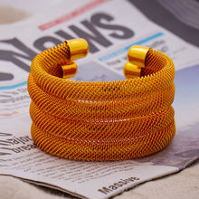 Wando 4 шт/лот золотой цвет Эфиопия Дубай Арабский Браслет манжета