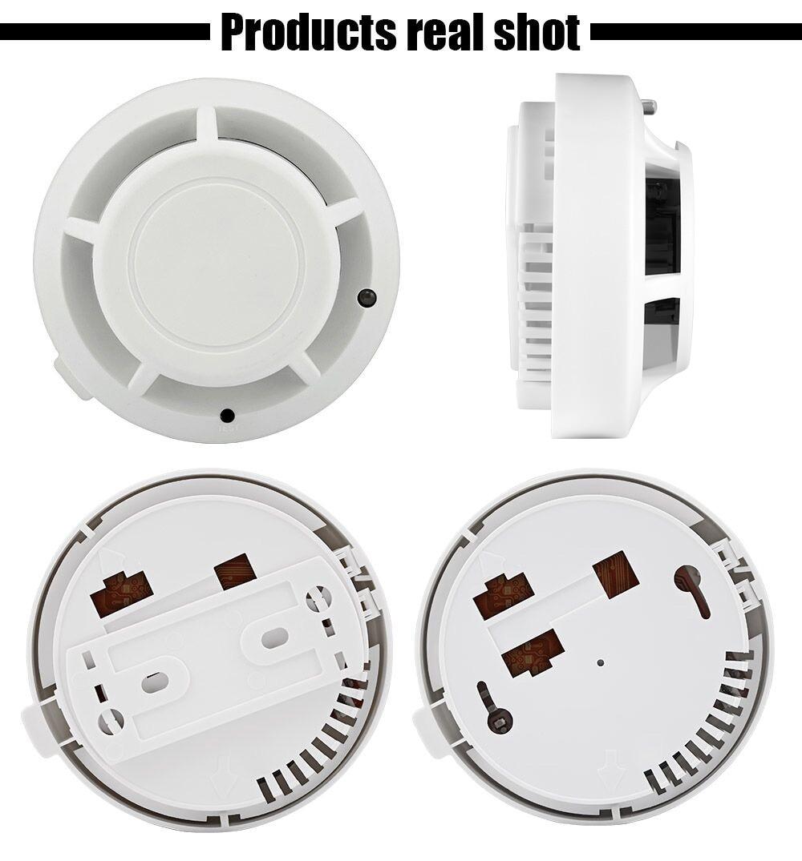 Smart Independent Type Alarm Smoke Fire Sensitive Detector Home Security Wireless Alarm Smoke Detector Sensor Fire Equipment