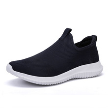 2019 Summer Mesh Shoe Sneakers For Men Shoes Breathable Men's Running Shoes Slip-On Male Shoes Loafers All Couple Walking 35-48