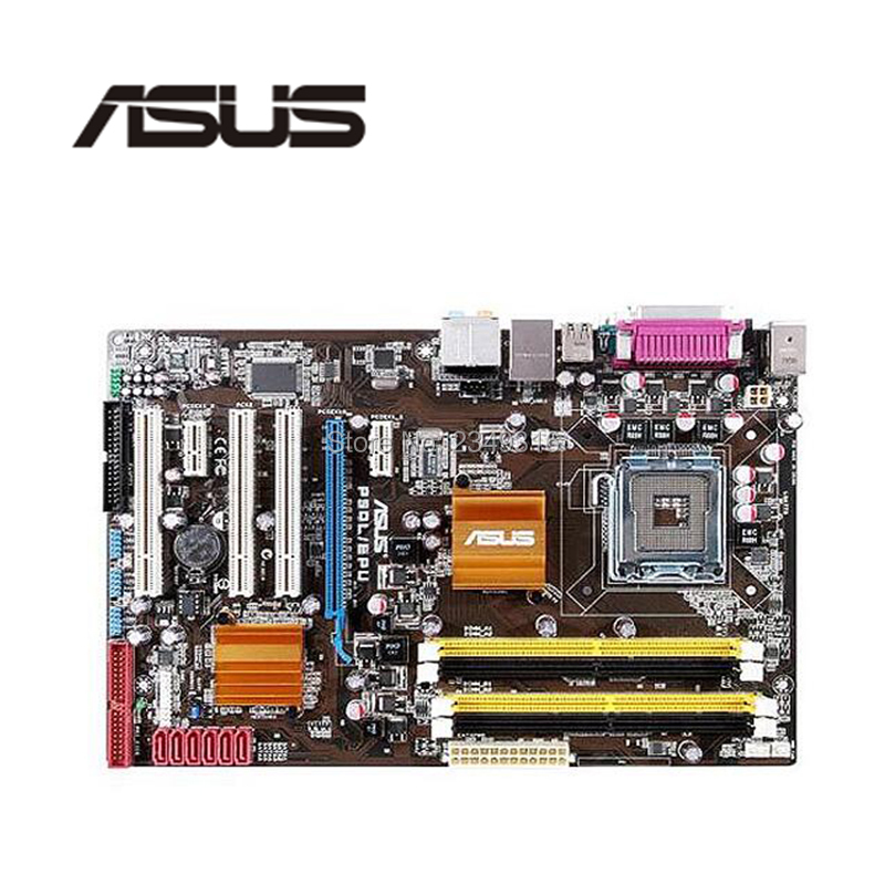 For ASUS P5QL/EPU Desktop Motherboard P43 Socket  LGA 775 DDR2 Used Mainboard