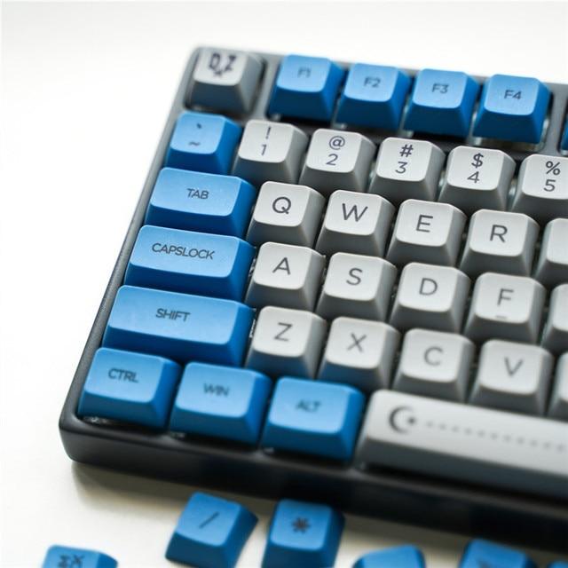 LEORY104 Keycap PBT Sublimation Keycap XDA Compatible GH60 GK61 GK64 96 Mechanical Keycap (Not Keyboard)