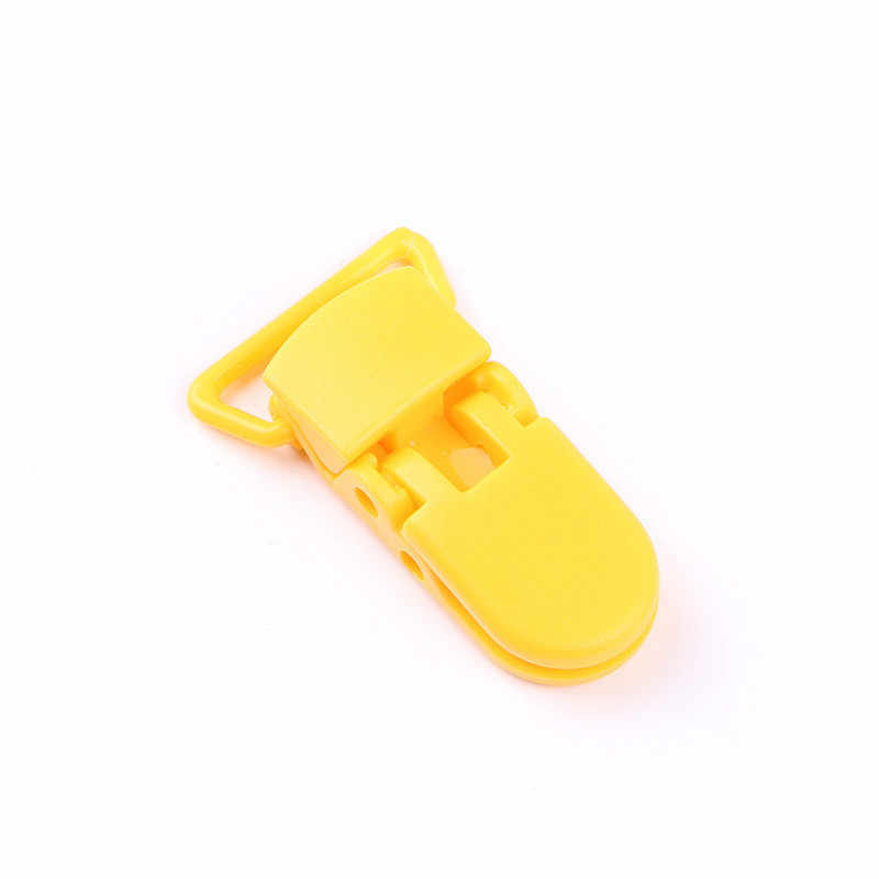 5/1PCS สร้อยคอ Teething คลิป DIY เด็ก Teether พลาสติกสำหรับที่มีสีสันเครื่องประดับจี้ซิลิโคนเด็กลูกปัดเครื่องมือ
