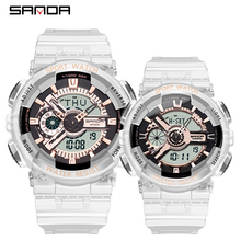 SANDA G Style Men Digital Watch Couple Shock Military Sports Watches