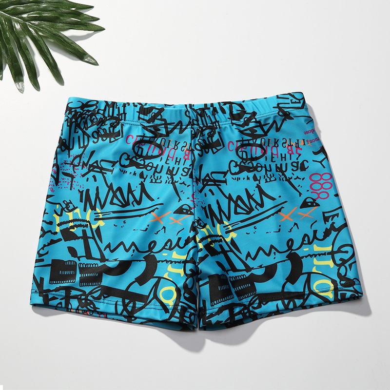 11-Year-Old 12 13 14 15 16 Swimming Trunks Teenager Swimwear Men 18 Big Kid Middle And High School Students Boxers 20