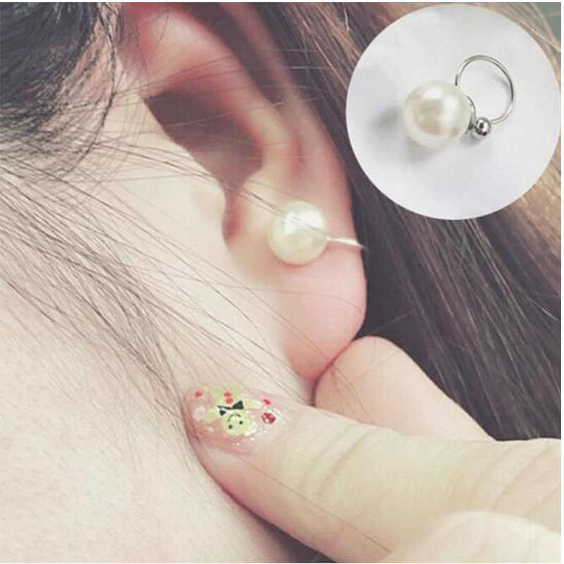 ヴィンテージパンク中空 U 字型の耳のクリップイヤリング以外のピアス耳の骨男性と女性ジュエリークリップデ oreja 卸売 478