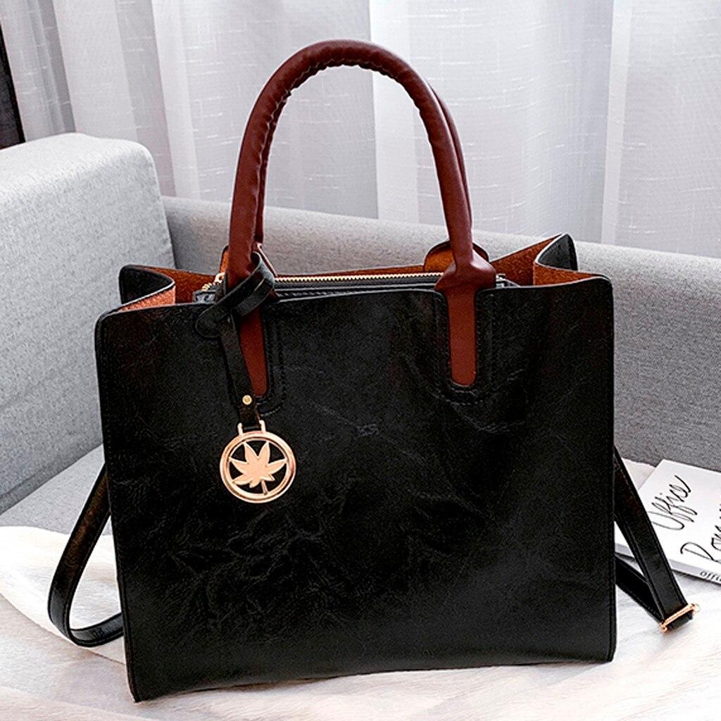 Ensemble sacs 3 pièces mode en cuir PU dames sac à main 80