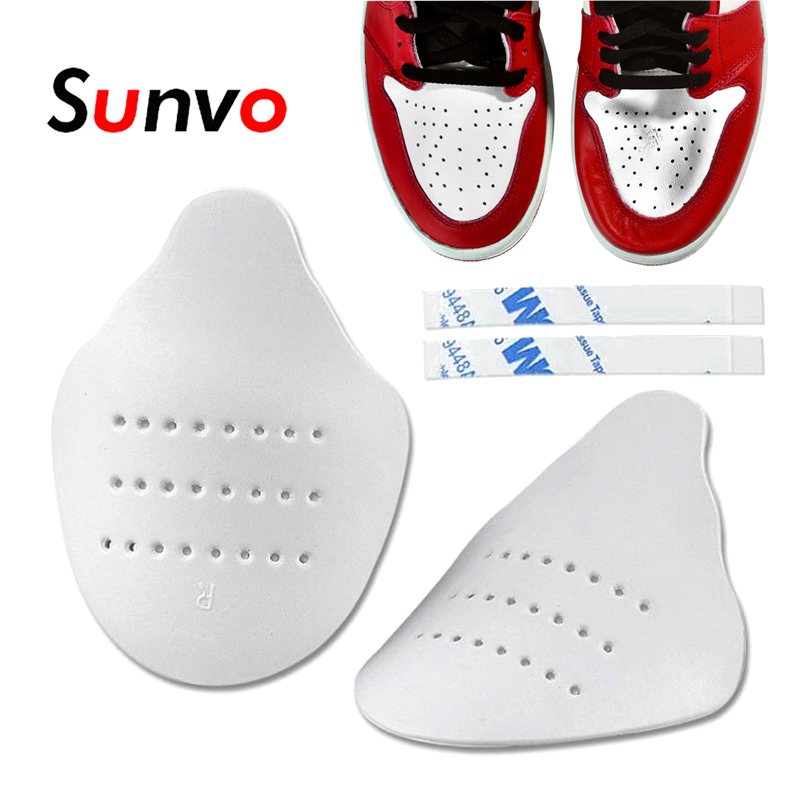 Dropshipping Shoes Shields For Sneaker Anti Crease Wrinkled Fold Shoe Support Toe Cap Sport Ball Shoes Head Care Stretcher Pads
