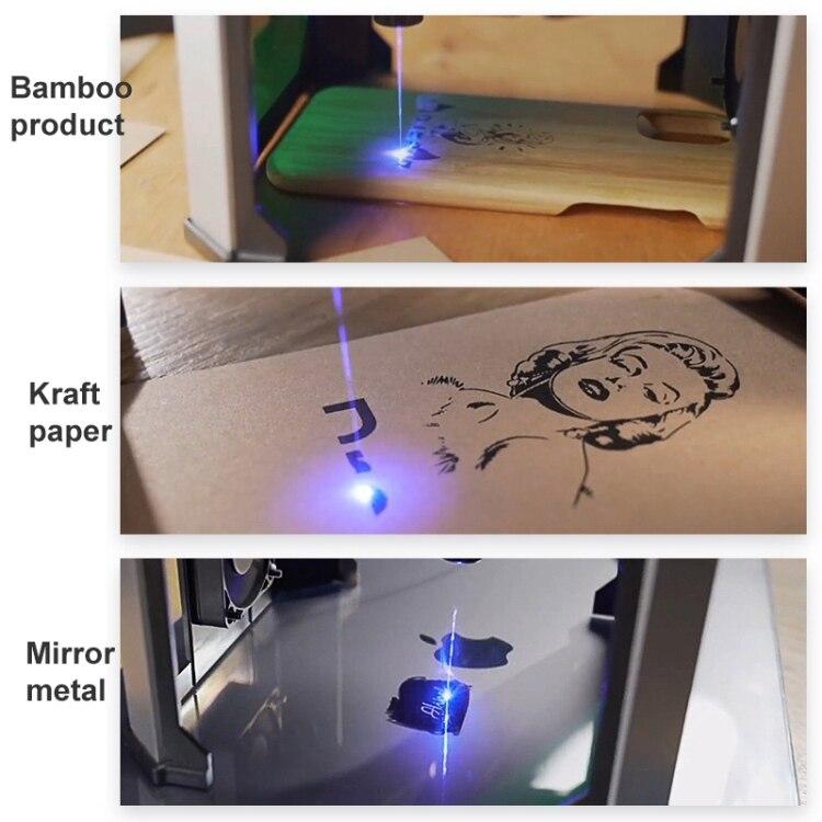 metal mini para máquinas de gravação a laser diy