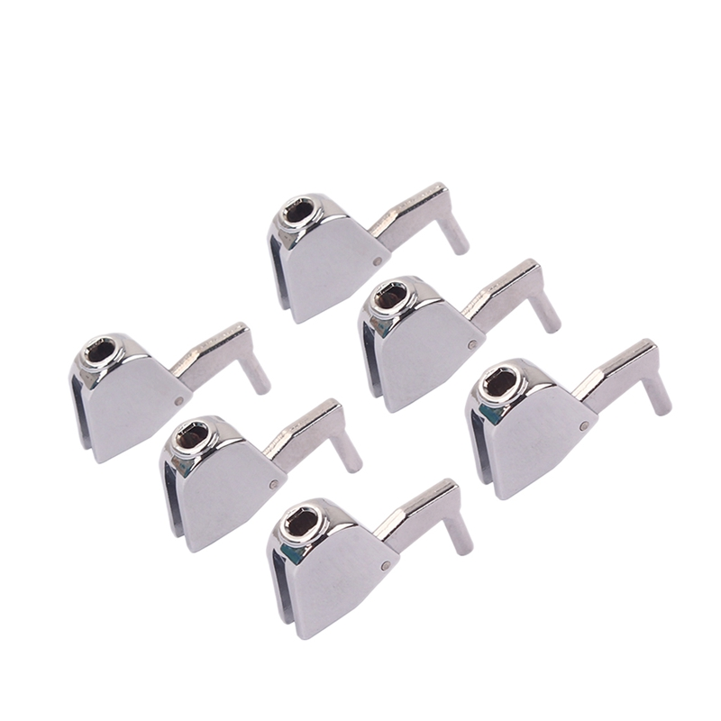ABUO-A Set 6Pcs Electric Guitar String Quasi-Stringter Tuner Buttons For Guitar Electric Bass Guitar Tuners Machine Heads