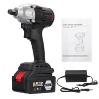 Doersupp 630NM 16800mAh Brushless Cordless Electric Impact Wrench Electric Wrench 168VF 1/2'' 110 240V with Battery Power Tool