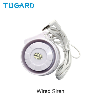Mini Wired Siren Horn for GSM 3G 4G Wireless Home Security Sound Alarm System 110dB Alarm Siren new mini wired siren for gsm wifi wireless home alarm security system alarm accessories siren