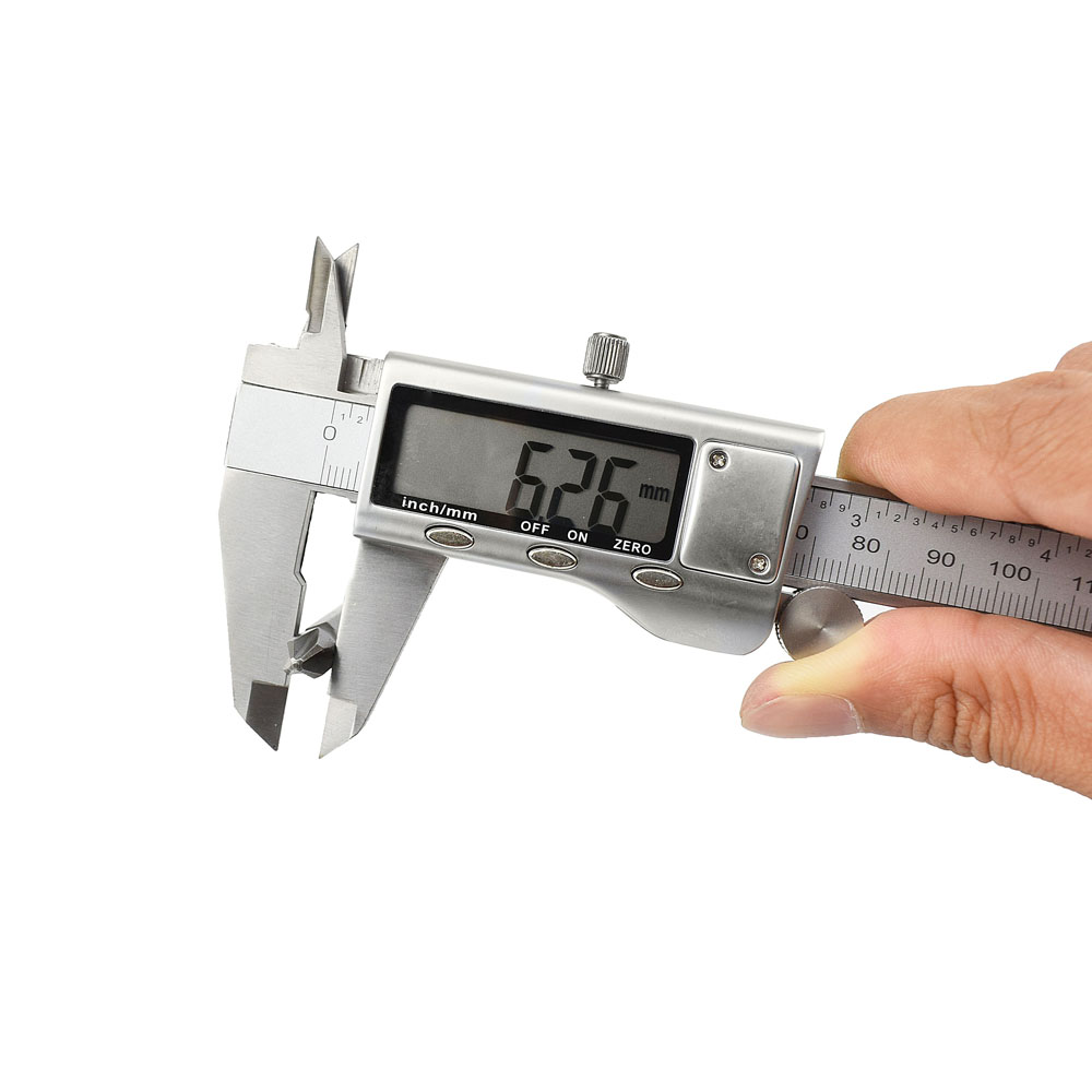 NEWACALOX 150 mm / 0,01 mm LCD obrazovka digitální měřicí - Měřicí přístroje - Fotografie 4