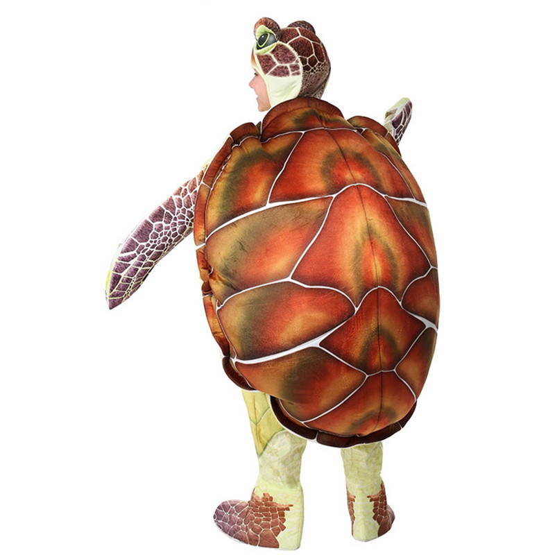 Halloween Sea Turtle Costume All Over Youth T Shirt