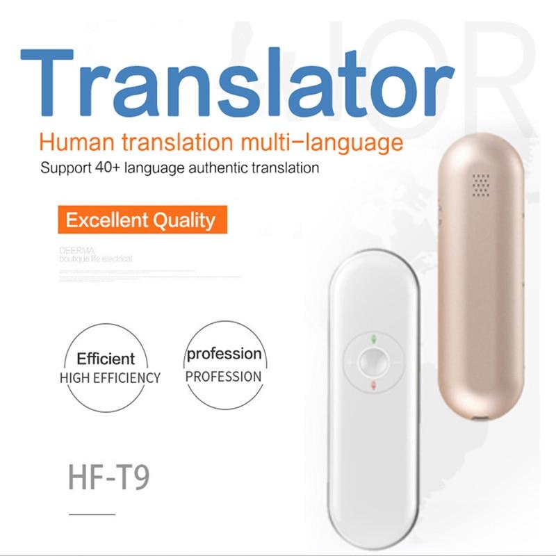 T9 Intelligent Multifunction Real Time Smart Voice Translator Multi Language