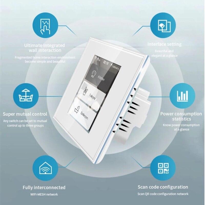 interruptor de luz parede consumo energia inteligente
