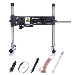 Image 1 - HISMITH Kliclok Automatische Sex Maschine Kliclok Adapter Turbo Power Sex Maschine Gun Solide Stahl Erotische Sex maschine für frauen