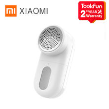 XIAOMI MIJIA Lint Remover Clothes fuzz pellet trimmer machine portable Charge Fabric Shaver Removes for clothes Spools removal cheap CN(Origin) Rechargeable Battery 1-2 Hours Charging Type Knitted Sweater Neatening Storage 2021 145*62*65mm