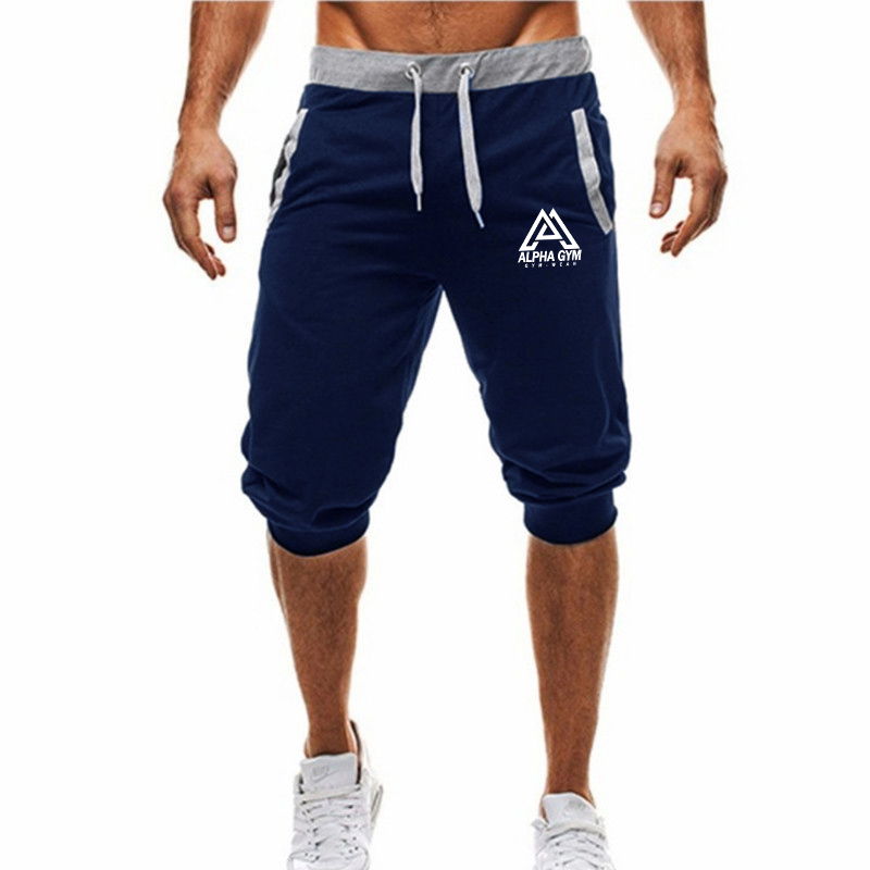 2020 New Summer Men Short Casual Joggers Gyms Slim Fit Bodybuilding Fashion Joggers Sweatpants Men Fitness Shorts Sportswear