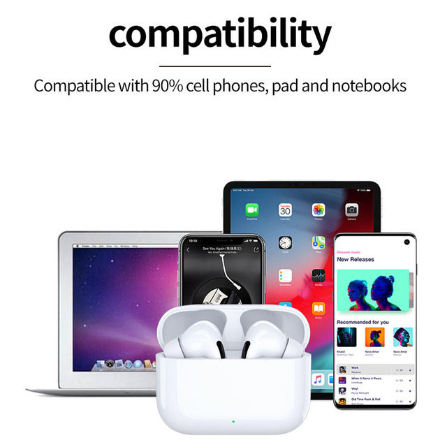 Airs pro 3 tws bluetooth earphones wireless headphone noise cancelation Headse 3D Stereo t in-ear headphones for Mobile Phone