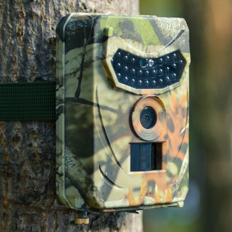 Trail Hunting Camera 1080P HD 12MP Video Waterproof Wildlife Scouting Infrared Night Vision Photo Traps