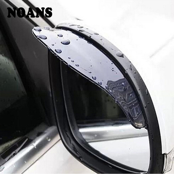 2pcs PVC Car Rear view Mirror sticker rain eyebrow For BMW E46 E90 E60 E39 E36 F30 F10 F20 X5 E53 E70 E30 M E87 G30 E34 E92 E91 image