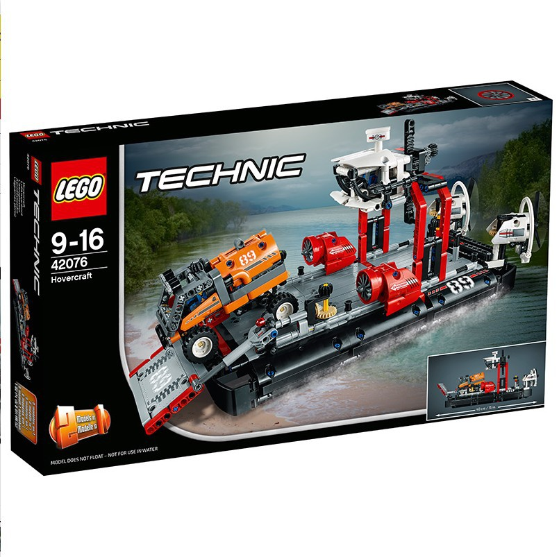 January New Products Le/Go Machinery Group 42076 Air Cushion Ferry Technic Children Building Blocks Toy