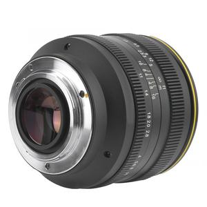 Image 4 - Kamlan 50 مللي متر f1.1II فتحة كبيرة دليل التركيز APS C عدسة عديمة المرآة ل CanonM سوني E فوجي X M43 جبل الكاميرا