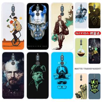 Phone Case For Huawei Mate 30 20 10 Lite Pro Cover Y7 Y9 2019 2018 2017 Nova 5T 4 3 Breaking Bad Chemistry Walte image