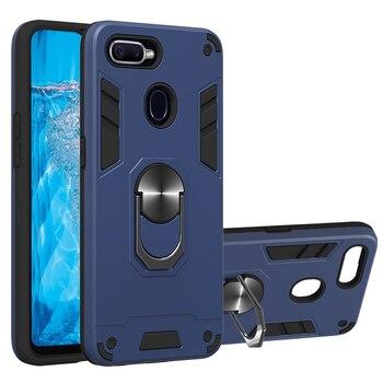 Перейти на Алиэкспресс и купить Противоударный защитный чехол для телефона OPPO Reno Realme C1 C2 U1 2 2Z 2F F11 A9 F9 A3S A5 A7X A1K A7 A5S A12 A37 Neo 9 Pro