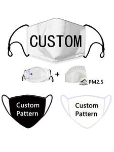Face-Shield Cloth Masque Mouth-Mask-Logo Custom-Face-Masks Letter Print Anime Photo-Star
