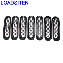 Exterior Auto Accessory Protector Car Accessories Racing Grills 07 08 09 10 11 12 13 14 15 16 17 FOR JEEP Wrangler