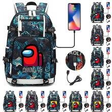 Game 3D backpack Children Cartoon Anime School Bag laptop Rucksack Girl Boy Knapsack Unisex Waterproof Travel bags