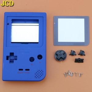 Image 4 - JCD 1 قطعة البلاستيك غطاء كامل الإسكان شل استبدال ل Gameboy جيب لعبة وحدة التحكم ل GBP قذيفة حالة ث/أزرار عدة