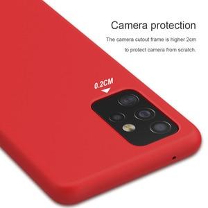Image 4 - ซิลิโคนซิลิโคนซิลิโคนซิลิโคนสำหรับ Samsung Galaxy A52 A72นุ่มยางป้องกัน