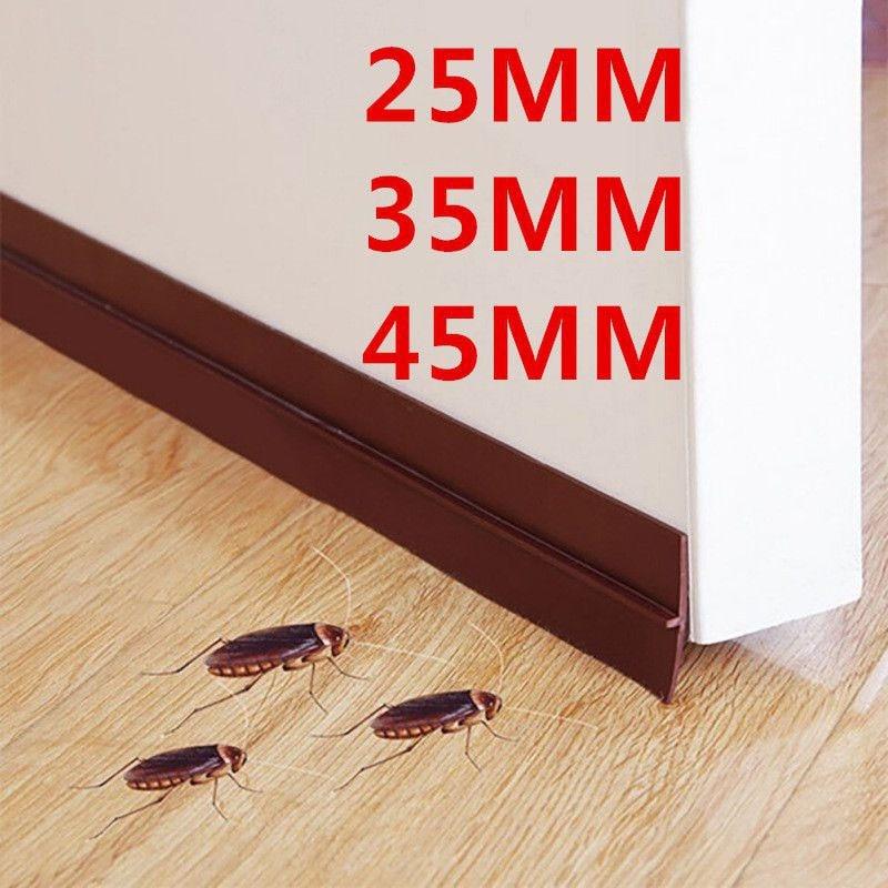 Self Adhesive Silicone Door Window Tape Rubber Sealing Strip Weatherstrip Sound Insulation Sliding Door Bottom Seal Strip