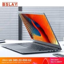 Core i7 ноутбук 15,6 inch 8G/16G Оперативная память 128 г/256 г/512 г/1 ТБ SSD Тетрадь компьютер металлический корпус IPS ноутбук клавиатура с подсветкой игров...