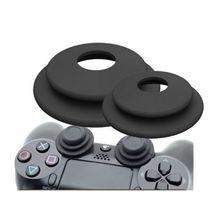 2 in 1 amaç yardımcısı halka yumuşak silikon amortisörler Analog joystick için oyun aksesuarları playstation 3 PS4 Pro 360