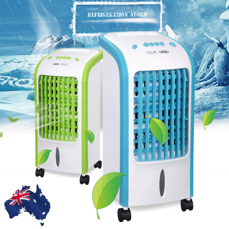75W 220V Multi-functional Evaporative Air Cooler Fan Air Conditioner Conditioning Humidifier Purifier USB Desktop Air Cooler Fan