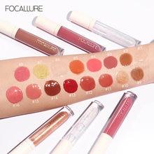 FOCALLURE Cosmetics Lip Gloss Shimmer High Shine Glossy Non Sticky Lip Tint Nourish Lipcare Professional Long Stay Women Makeup
