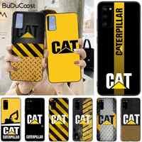 Caterpillar logo Recién llegado negro caja del teléfono celular para Samsung S5 6 7 8 9 10 S8 S9 S10 más S10E lite S10-5G S20 UITRA plus