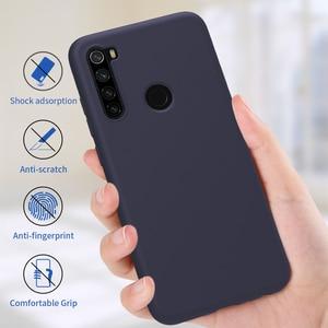Image 3 - Redmi Note 8 Pro Case Casing NILLKIN Liquid Smooth Silicone Case For Xiaomi Redmi Note 8 Pro Cover Luxury Protective Bags