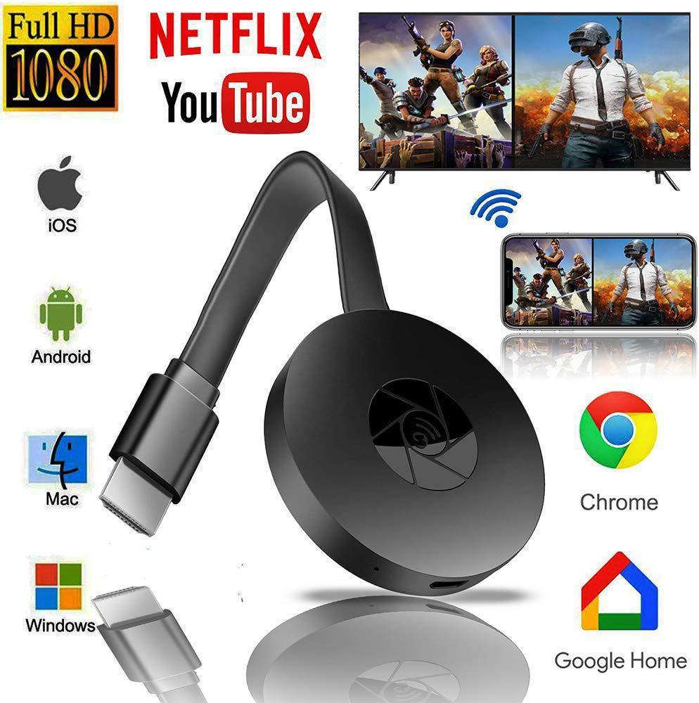 1080p hd tv vara de exibição sem fio tv dongle receptor airplay mídia streamer projeção vídeo adaptador de transmissão para telefone pc
