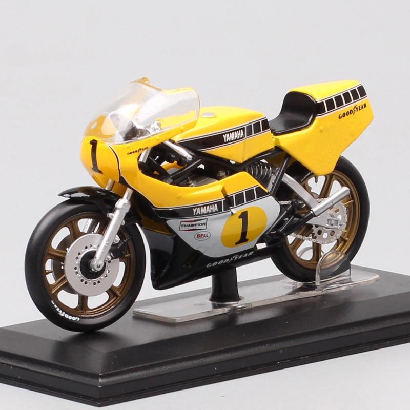 1/22 Scale Tiny Italeri Yamaha YZR OW35k 500 No#1 Rider K.roberts Moto Racing Motorcycle Diecast Vehicle Model GP Bike Toys 1978