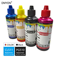 DMYON PG510 CL511 принтера пополнения чернил Бутылка Замена для Canon MP240 MP250 MP260 MP280 MP480 MP490 IP2700 MP499