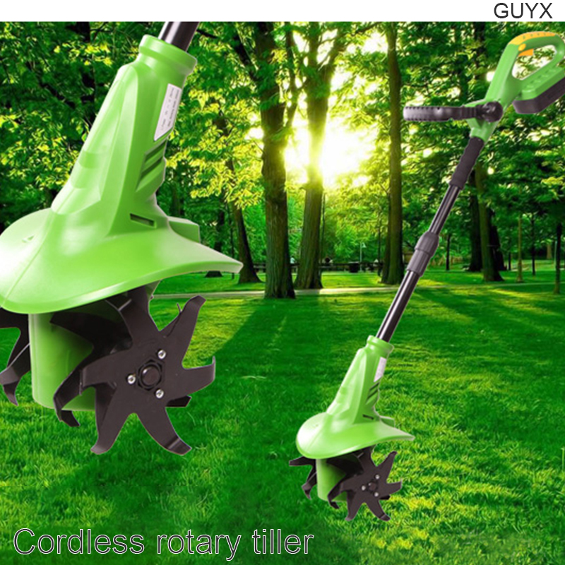 Household electric cultivator weeder small shovel cultivator agricultural rotary tiller cultivator Machine Centre     - title=
