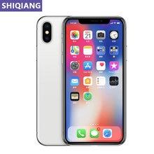 Entsperren Apple iphone X Original Verwendet handys 5,8 in Gesicht ID 3 + 64/256GB IOS 4G LTE GPS & NFC 7 + 12 MEGAPIXEL 1 SIM Karte Smartphones A11