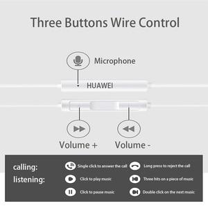 Image 5 - מקורי Huawei אוזניות HUAWEI AM115 אוזניות מיקרופון 3.5mm עבור HUAWEI P7 P8 P9 לייט P10 בתוספת כבוד 5X 6X mate 7 8 9 smartphone